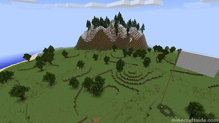 Cursed Island Survival Map for Minecraft 1.9
