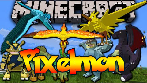 Pixelmon mod for minecraft 1.8