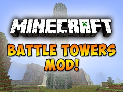Battle Towers Mod for Minecraft