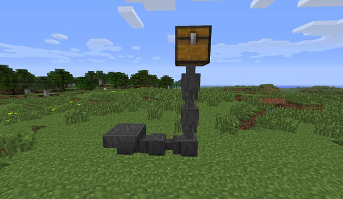 how to make a hopper in minecraft 1.12